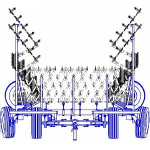 Сцепка гидрофицированная СГП-21